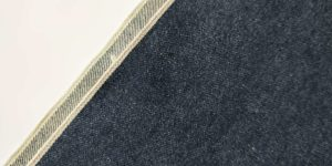 14.36oz Rough Denim Jeans Selvedge Fabric Suppliers W9376