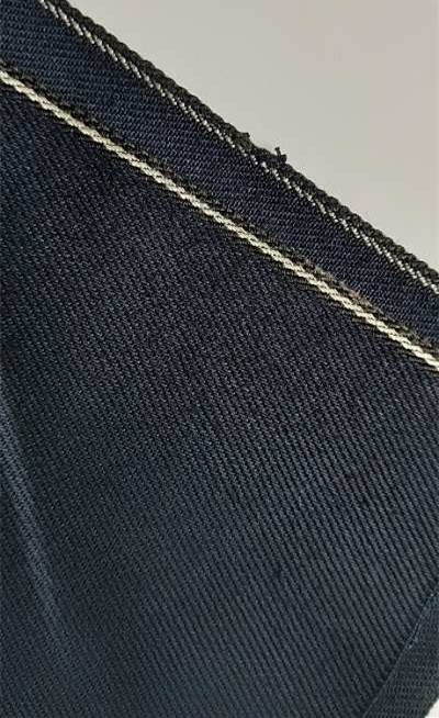 12.3 oz Indigo Selvedge Jeans Stretch Denim Fabric Wholesale W9339