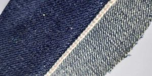 18 oz Stiff Denim Jeans Fabric Selvage W12037A-2