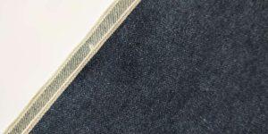 14.36oz Unsanforize Selvedge Denim Brands Through The White Denim Material For Sale W93736