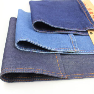 10.3oz Unstitched Jeans Fabric Cotton Lycra Denim Fabric W186