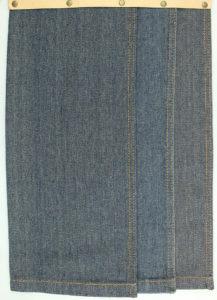 11oz Cotton Polyester Denim Fabric Best Cotton Jeans Material W049