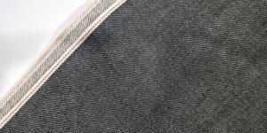 11.2oz Red Selvedge High Quality Black Denim Fabric Manufacturers W93828A