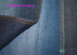 8.2oz 148cm Plain Weave Stretch Bull Denim Cloth Manufacturer W079