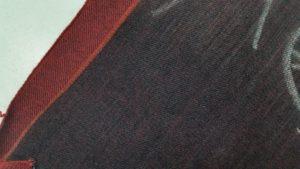 18.6oz Red Line Selvedge Denim Fabric Mills W89833-3
